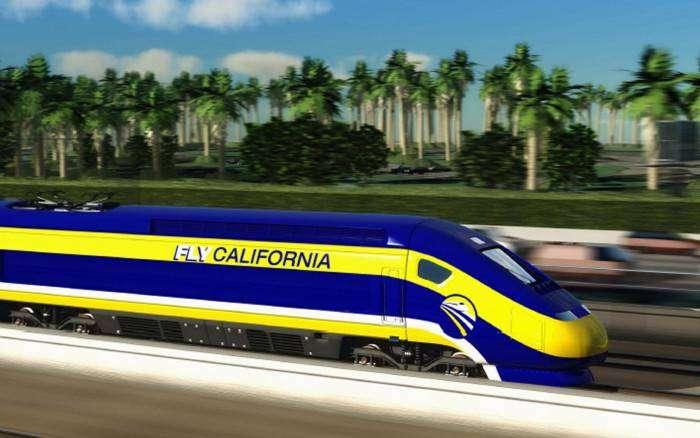 Высокоскоростная железная дорога в Калифорнии – 33 + миллиарда долларов