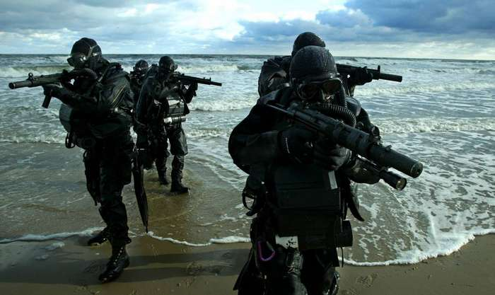 Как тренируются самые крутые спецназовцы мира