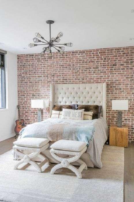 Особенности дизайна спальни в промышленном стиле идеально подходят для современного дома.