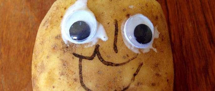 Фотографию картошки продали за миллион долларов
