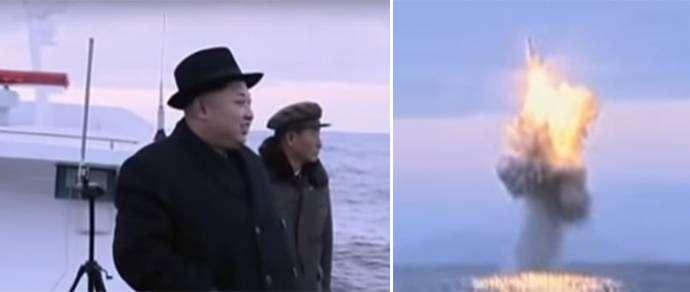 Эксперты: Северная Корея подделала видео пуска ракеты с подводной лодки