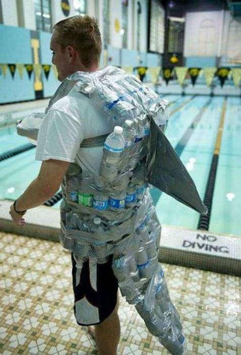Самый оригинальный купальный костюм.