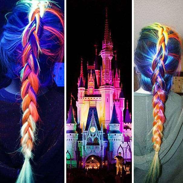 Компания «MANIC PANIC» выпустила краску для волос, после которой окрашенные пряди светятся в темноте.