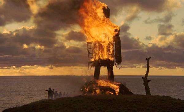 """Древнее орудие казни. """"Плетеный человек"""""""