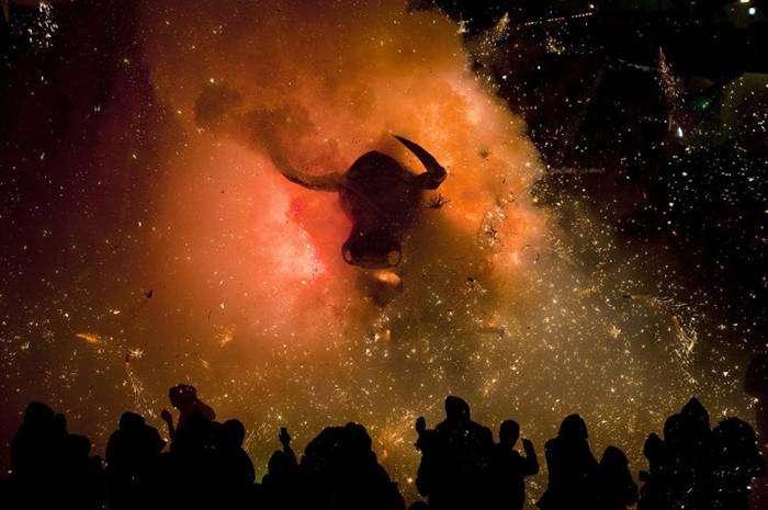 Национальный фестиваль фейерверков – Тульпек, Мексика