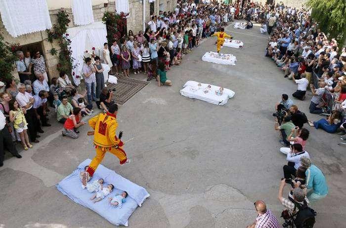 Ритуал Эль Колачо -Кастильо де Мурсия, Испания