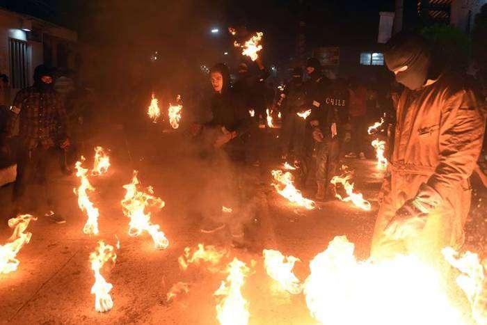 Фестиваль огненных шаров – Нехапа, Сальвадор