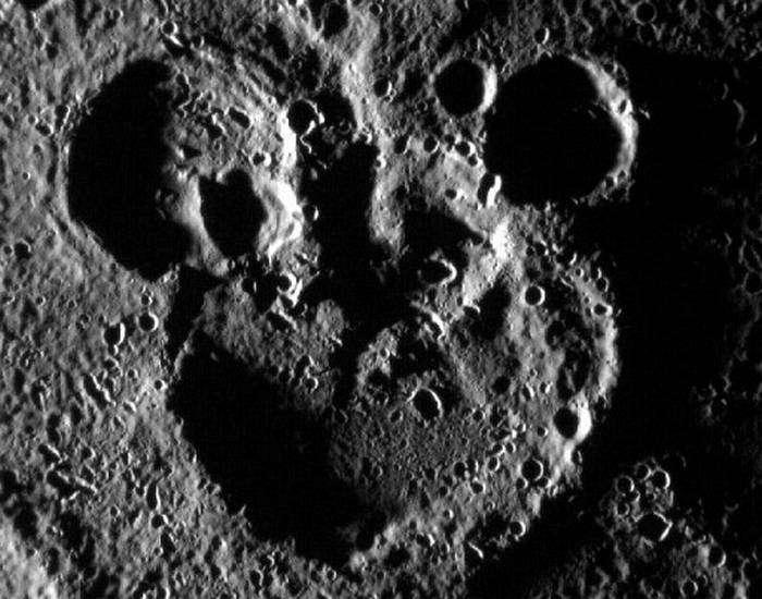 Меркурианский Микки Маус.