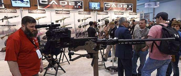 Фотофакт: на выставке в США показали новинки потребительского вооружения
