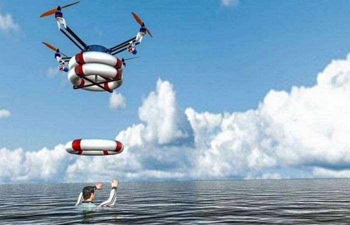 Дроны для поиска выживших после стихийных бедствий.