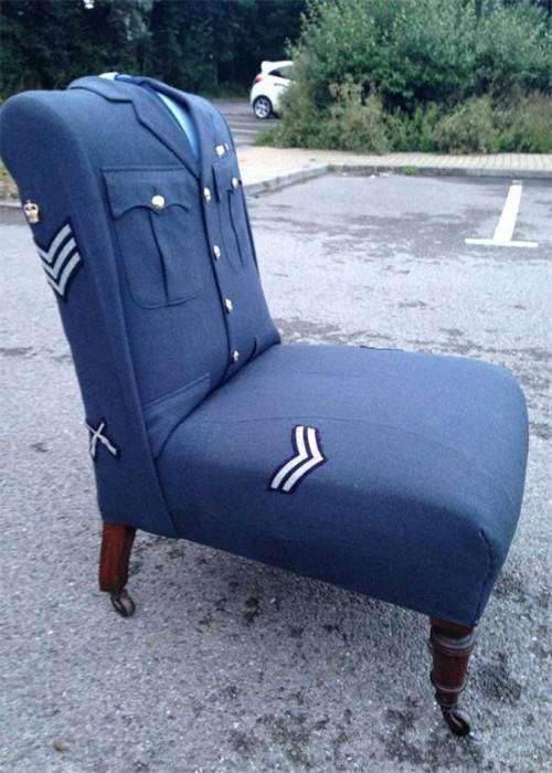 Кресло в ретро-стиле