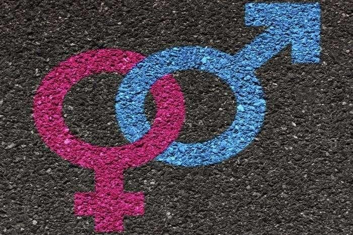 Символ мужчины и женщины.