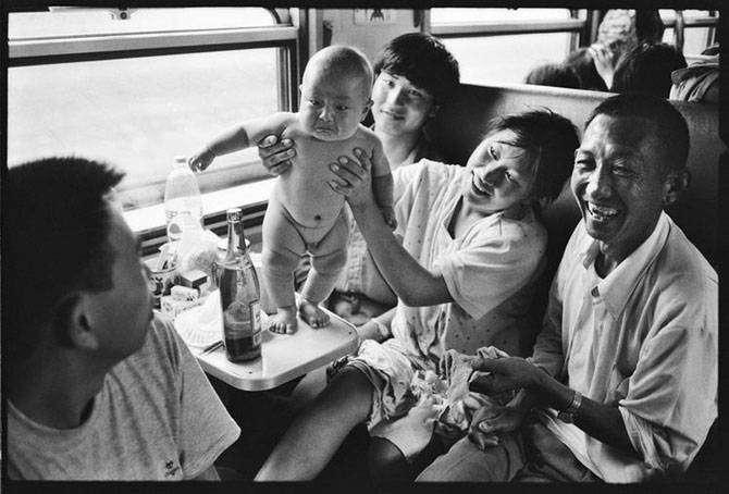 Жизнь в китайских поездах