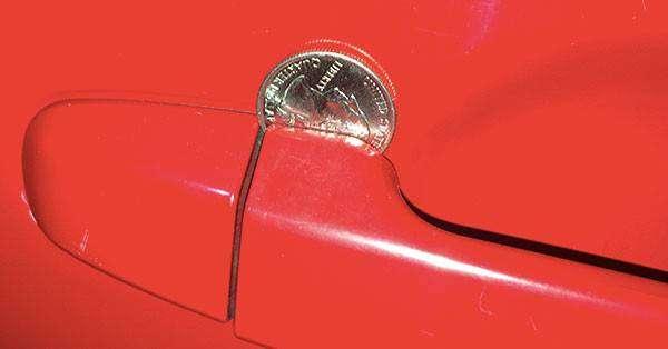 Если вы увидели монету на двери авто — действуйте немедленно! безопасность, история, своими руками, угон авто, факты