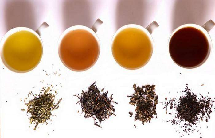 Такой разный чай.