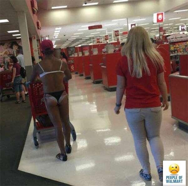 Экстравагантные покупатели Walmart (35 фото)