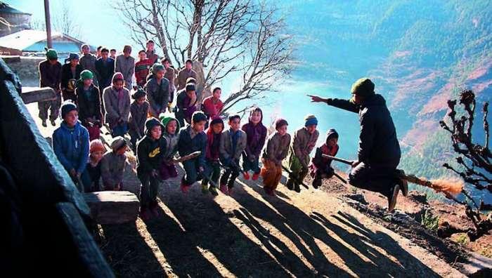 Учитель устроил для детей по-настоящему волшебную фотосессию (8 фото)