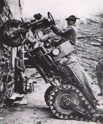 Autoveicolo Da Montagna: отчаянный трехколесник из Италии (9 фото)
