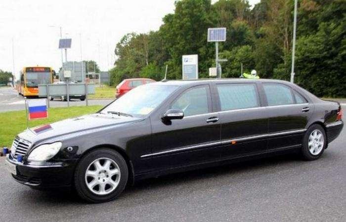 Дорогие автомобили, на которых ездят главы государств (11 фото)