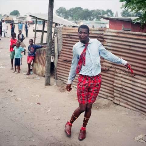 Стиляги по африкански (9 фото)