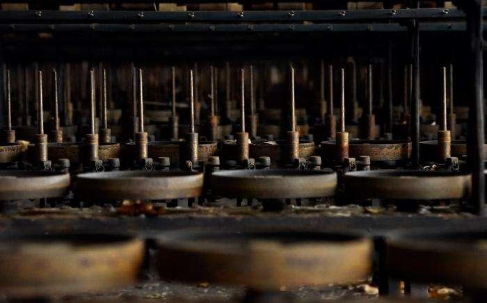 Заброшенный шёлковый комбинат (24 фото)