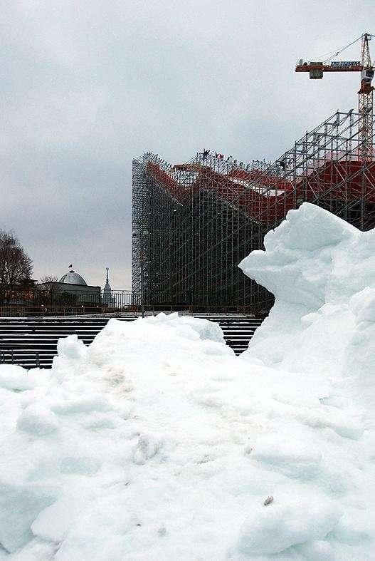 Горнолыжный курорт на юго-западе Москвы (22 фото)