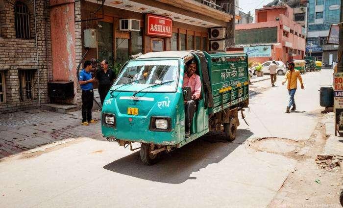 Индийский транспорт (38 фото)