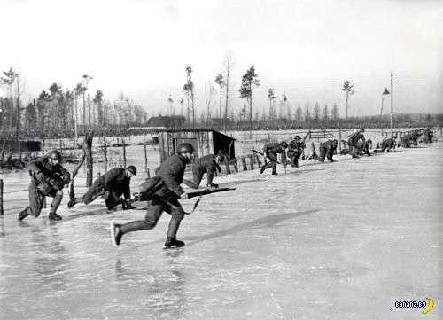 Голландские боевые конькобежцы