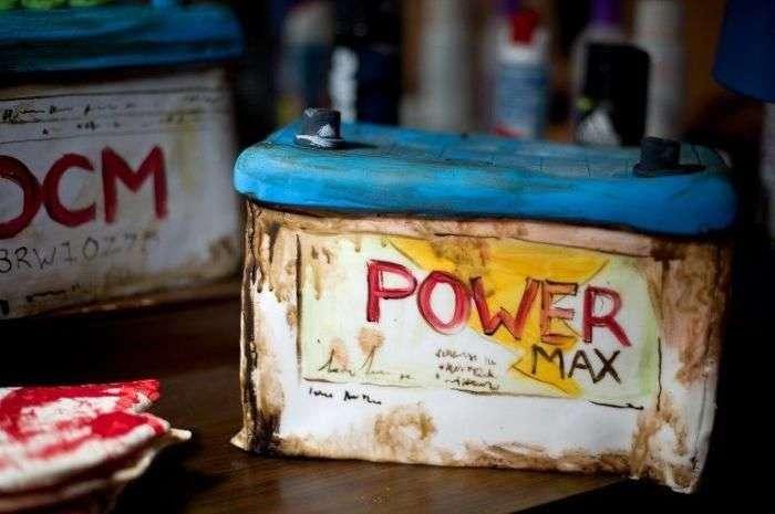 Жуткая кондитерская в Лондоне (13 фото)