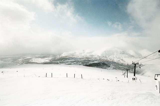 Едем в горы в феврале (6 фото)