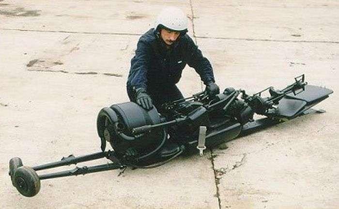 Разборный одноместный вертолет для Минобороны СССР (5 фото)