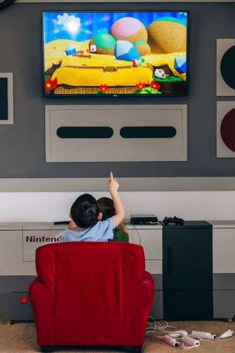 Игровая комната для детей от любящих родителей (19 фото)