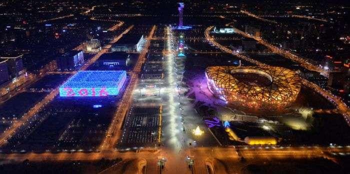 Безлюдный Пекин в канун Китайского Нового года (13 фото)