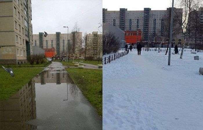 Питерские коммунальщики ответили на жалобу (2 картинки)