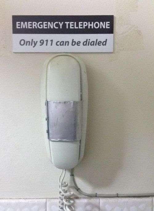 Телефон, с которого можно позвонить только по одному номеру (2 фото)