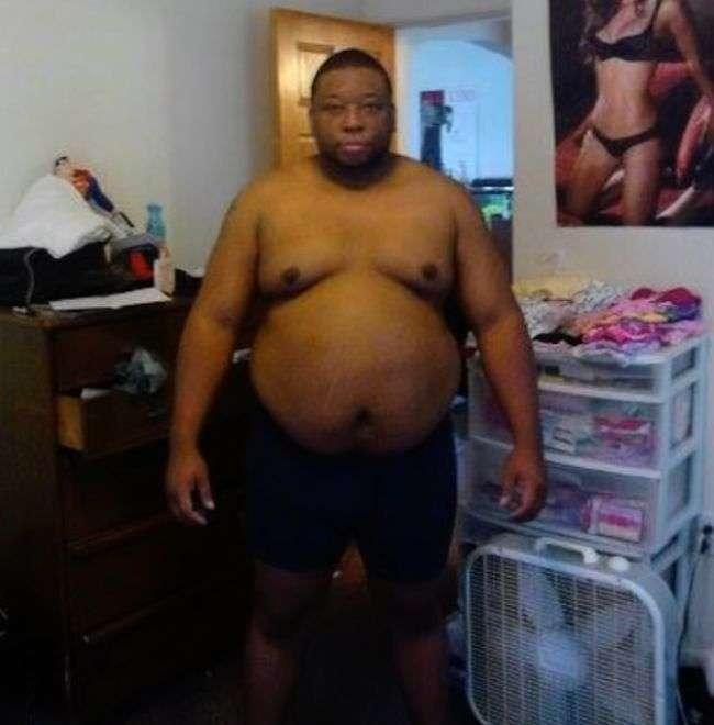 Трансформация бывшего толстяка (7 фото)