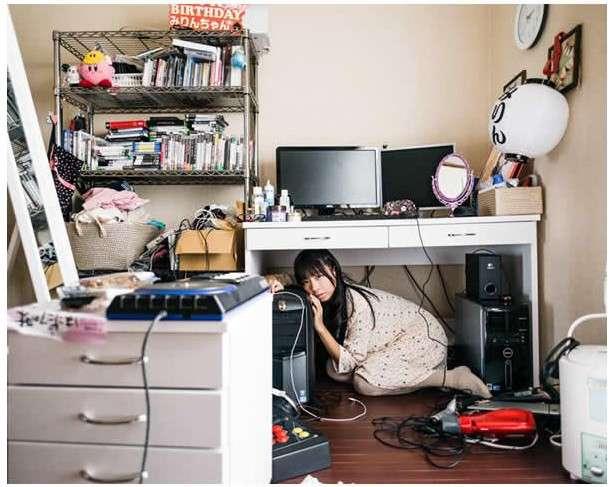 Комнаты японских девушек-отаку (9 фото)