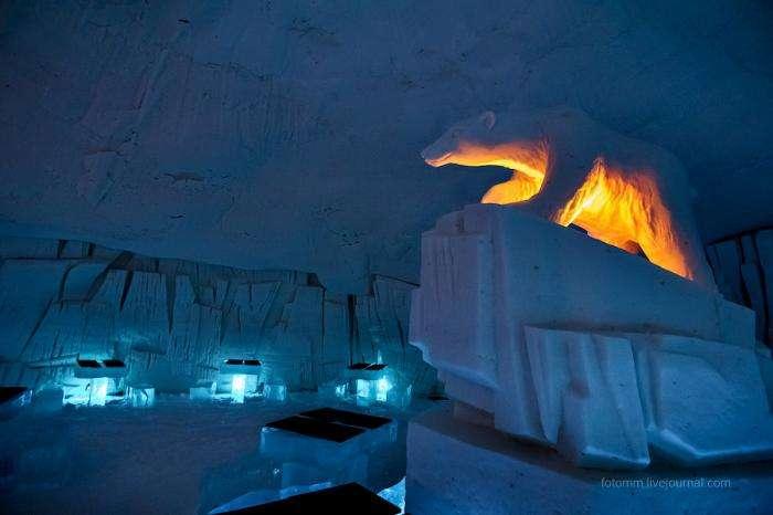 В гостях у Снежной Королевы или как попариться в ледяной сауне (33 фото)