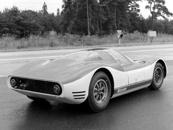 Первый японский гоночный автомобиль 60-х (16 фото)