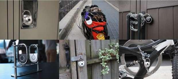 Навесной смарт-замок открывается по отпечатку пальца (8 фото + видео)