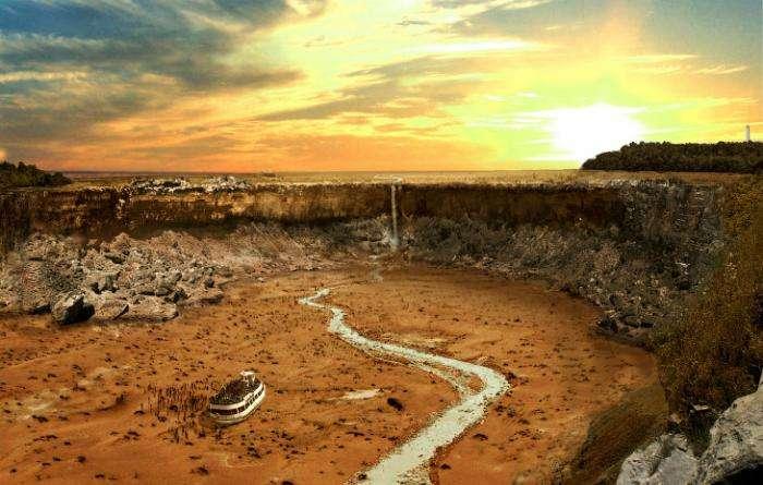 Мировые достопримечательности после великой засухи (11 фото)