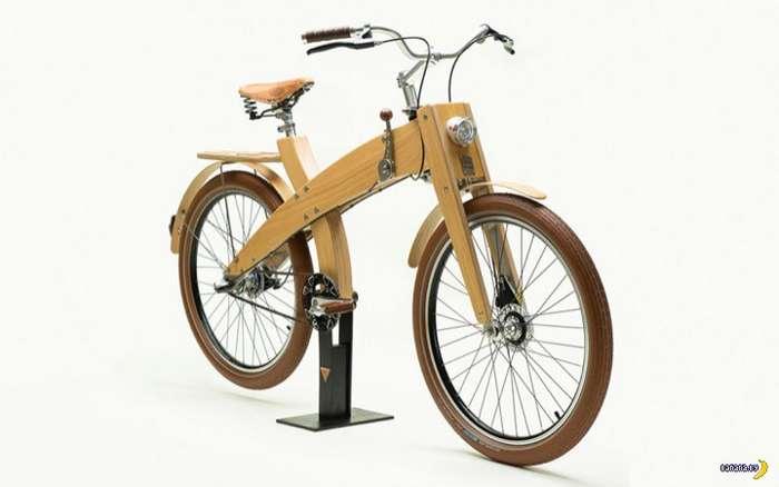 Деревянный велосипед MUD Cycles