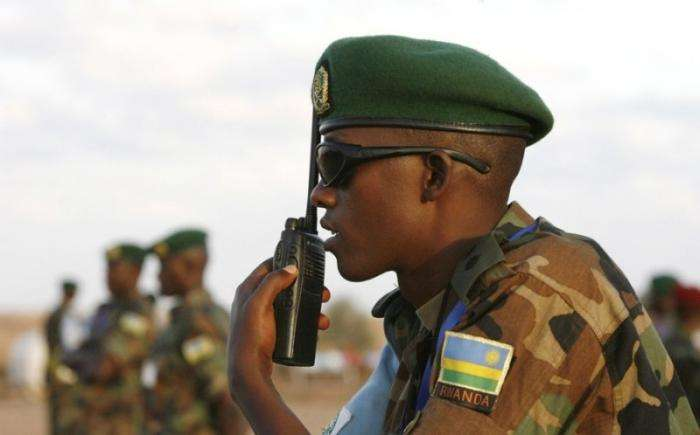 Военные учения в Африке (15 фото)