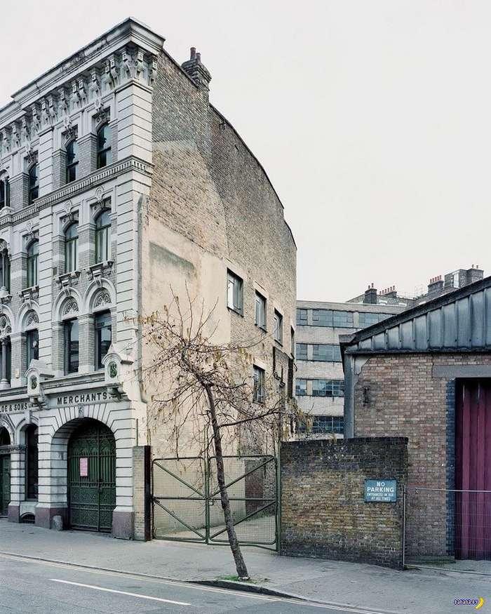 Исчезнувшие лондонские дома