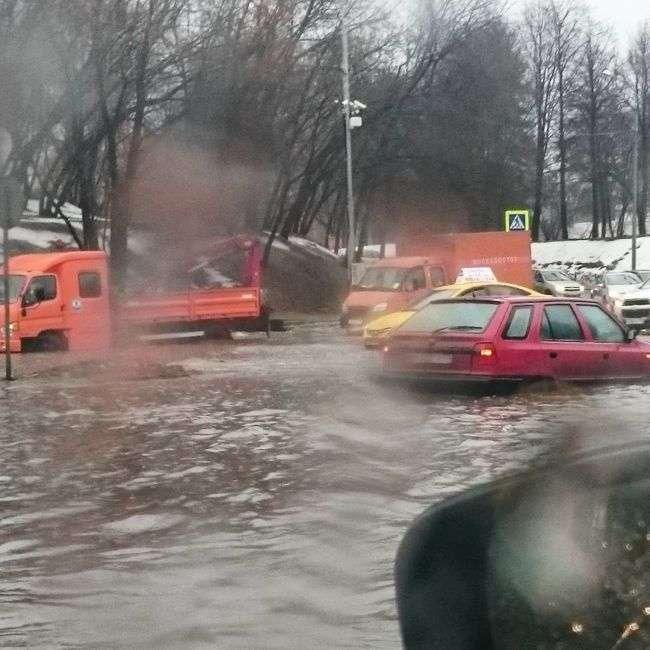 Аномальная погода в Москве (7 фото)