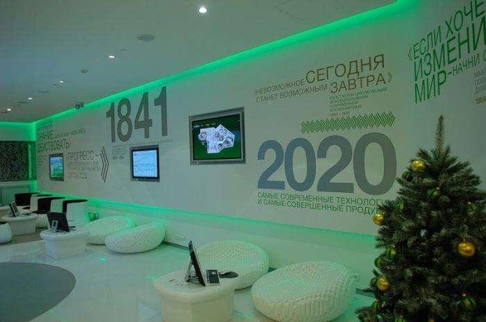 Новые офисы Сбербанка (4 фото)