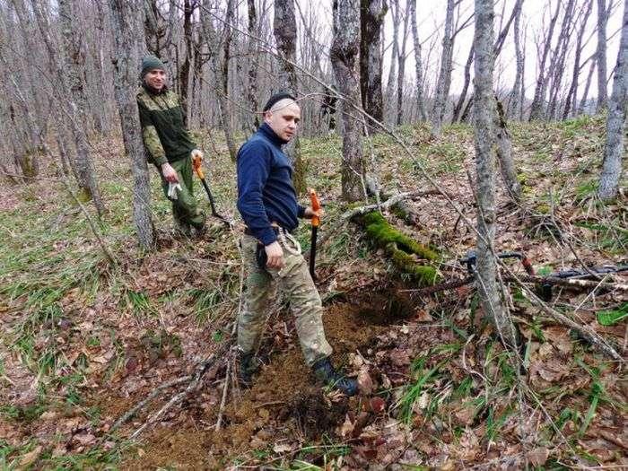 Поиски павших солдат Красной Армии в районе Сарай-горы (25 фото)