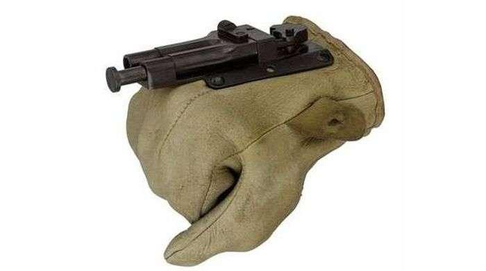 Пистолет-перчатка Sedgley OSS.38 (8 фото)