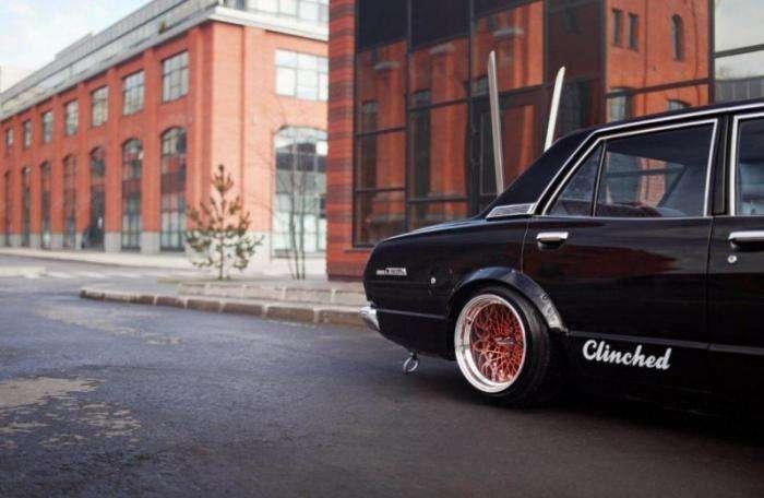 Toyota Cressida 1978 на японский лад (9 фото)
