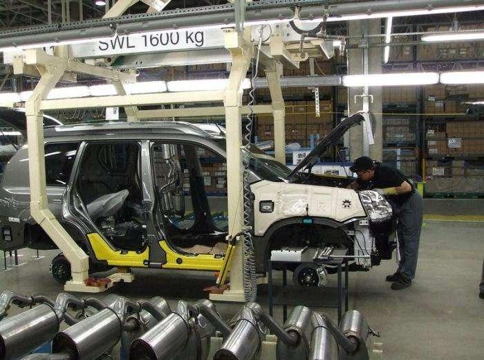 Как собирают Nissan для России! (13 фото)